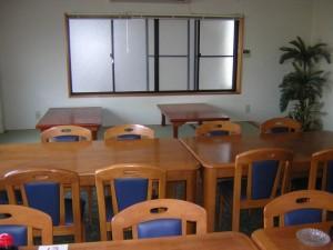 美海屋 1階食堂